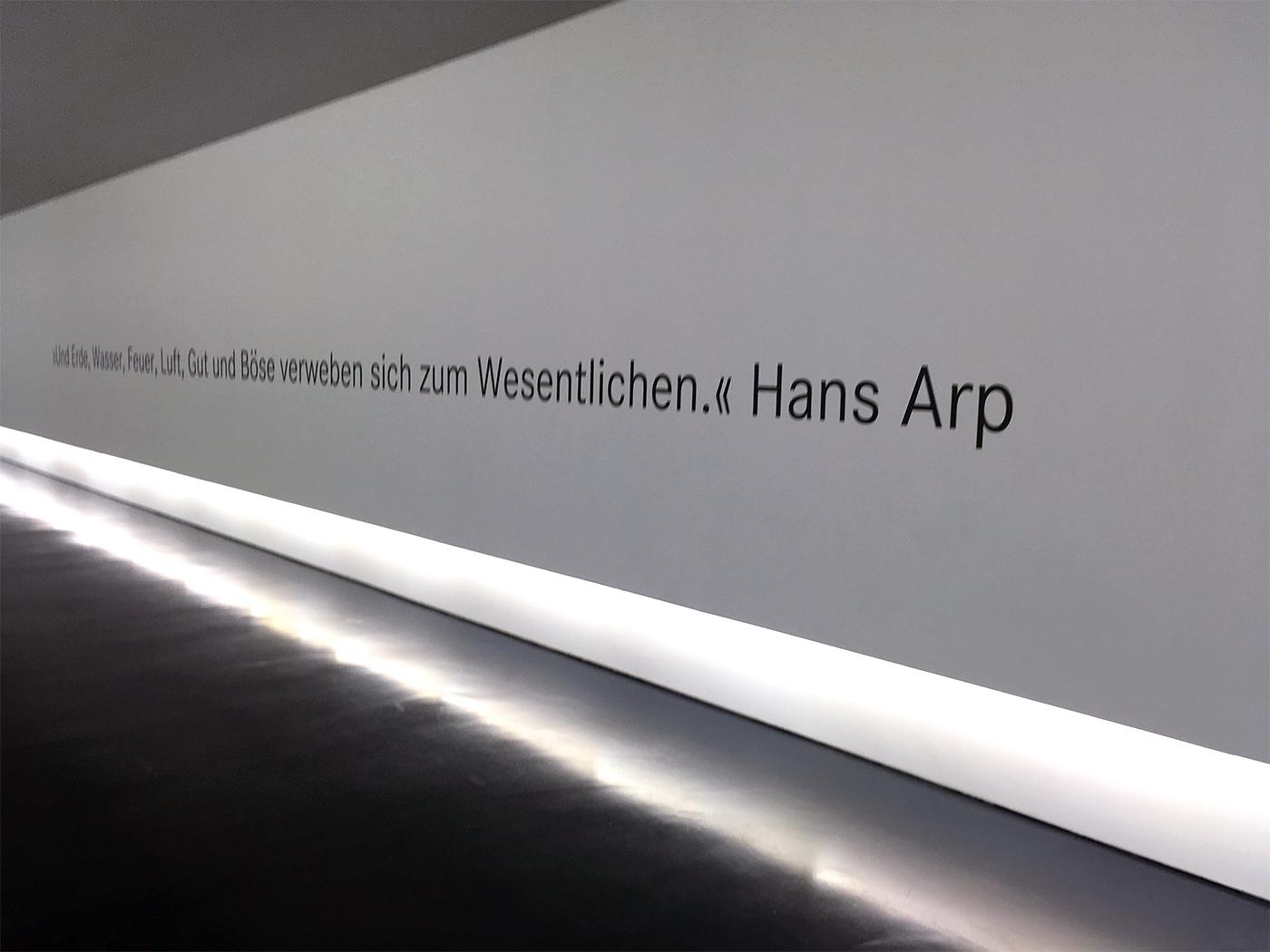 Teamausflug Hans Arp Museum