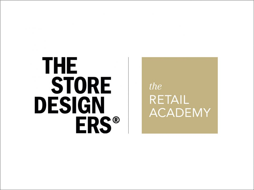 Logos of The Store Designers and The Retail Academy