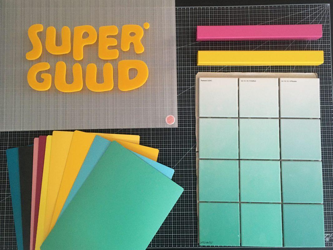 Materialkollage Superguud