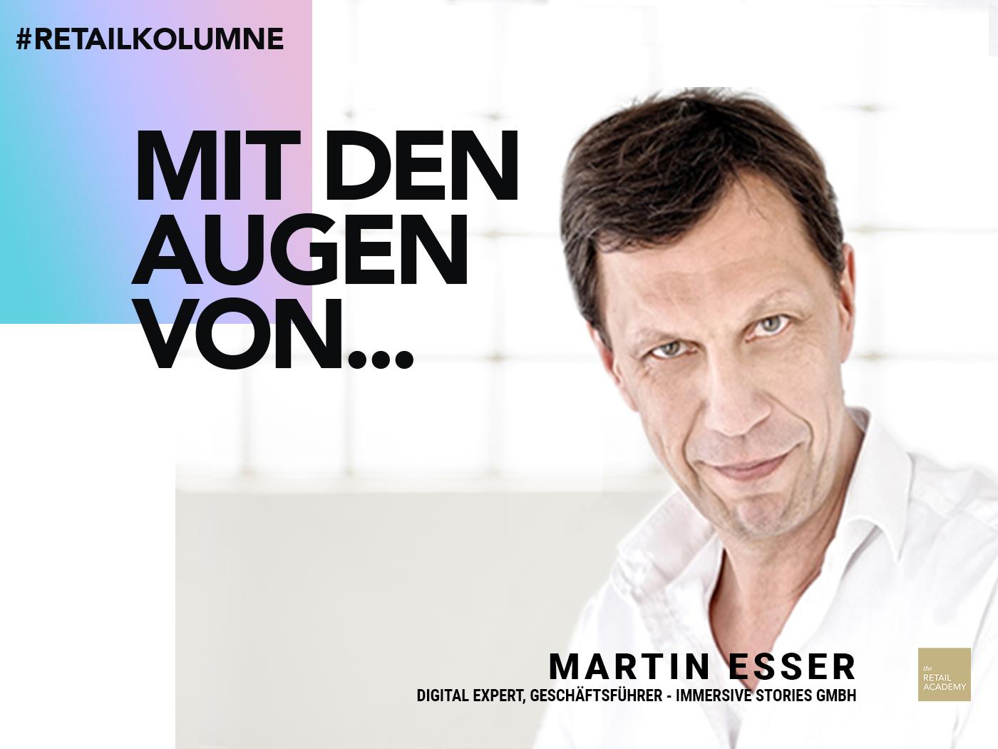 Martin Esser - Kolumne