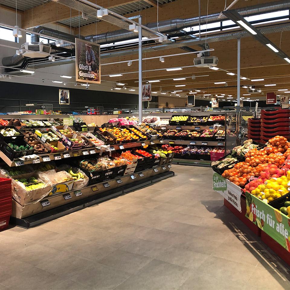 Penny Obst- und Gemüseabteilung
