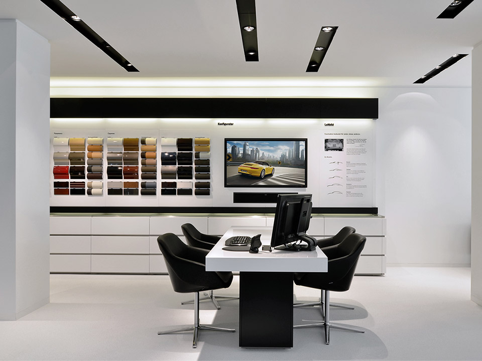 Porsche | New Retail Design Concept