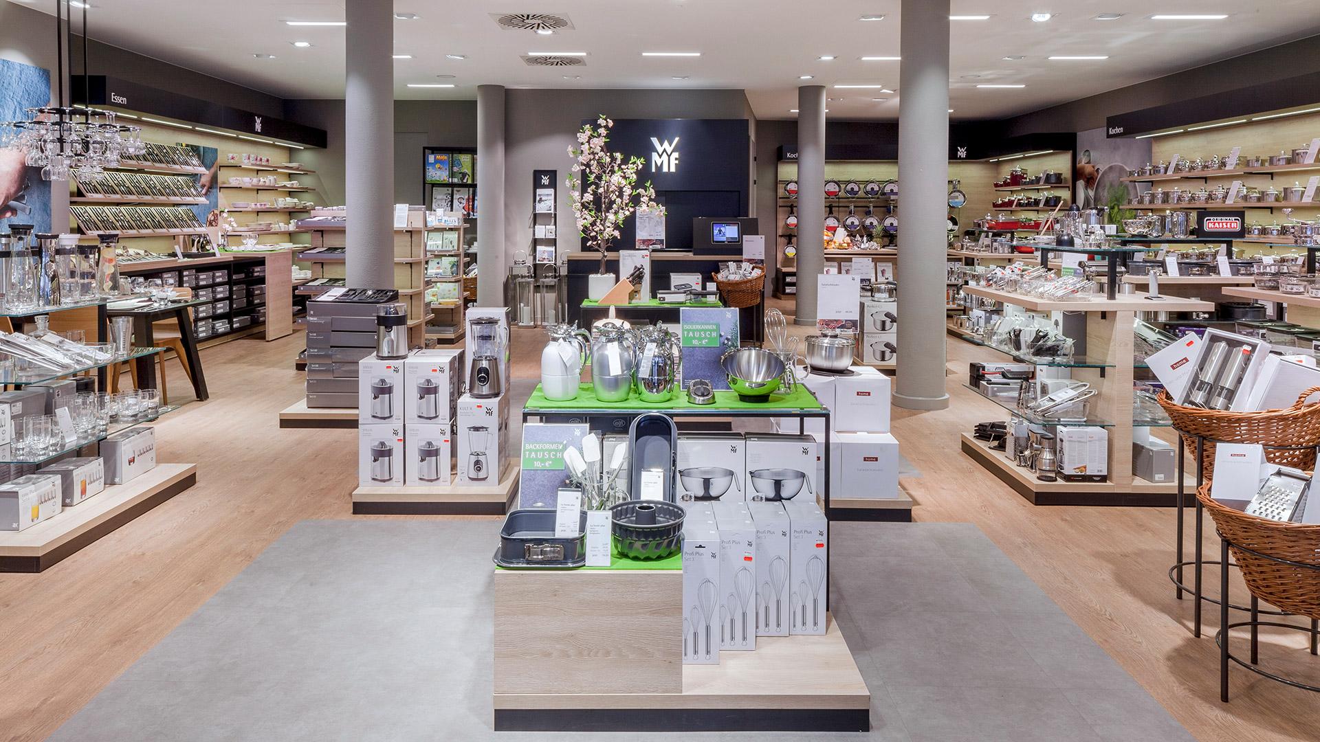 WMF Retail Design Raumansicht