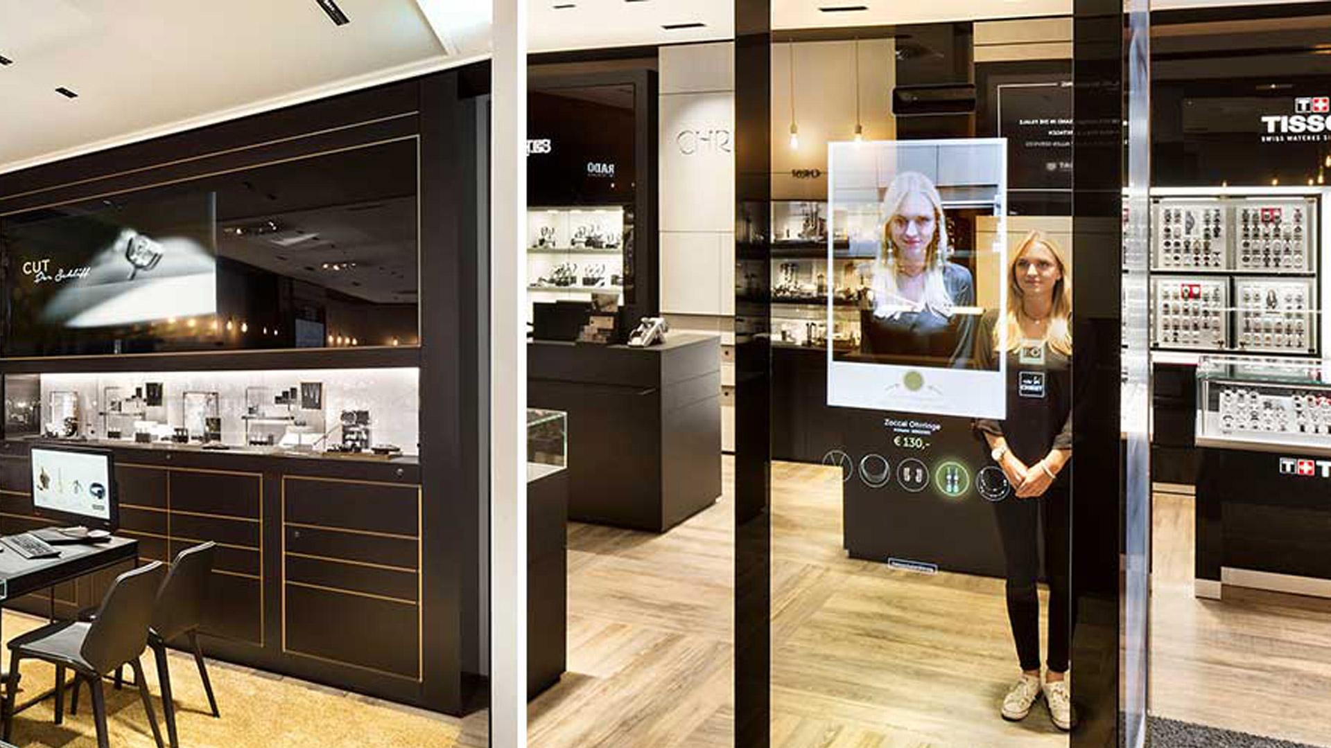 Retail Digital - Christ Raumansicht