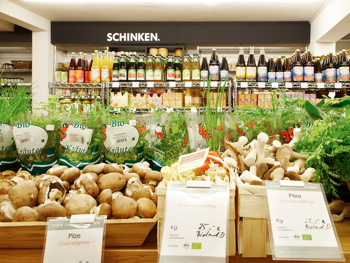 Vierjahreszeiten Biomarkt  - Gemüsebereich