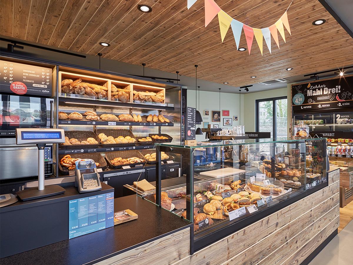 Lekkerland Bildblock Bäckerei