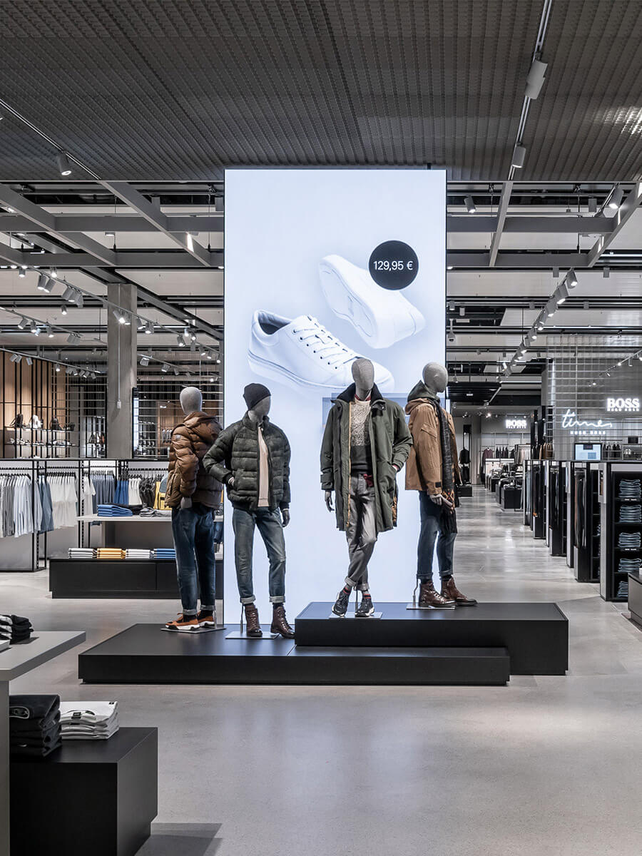 Hugo Boss | Retail Digital Konzept