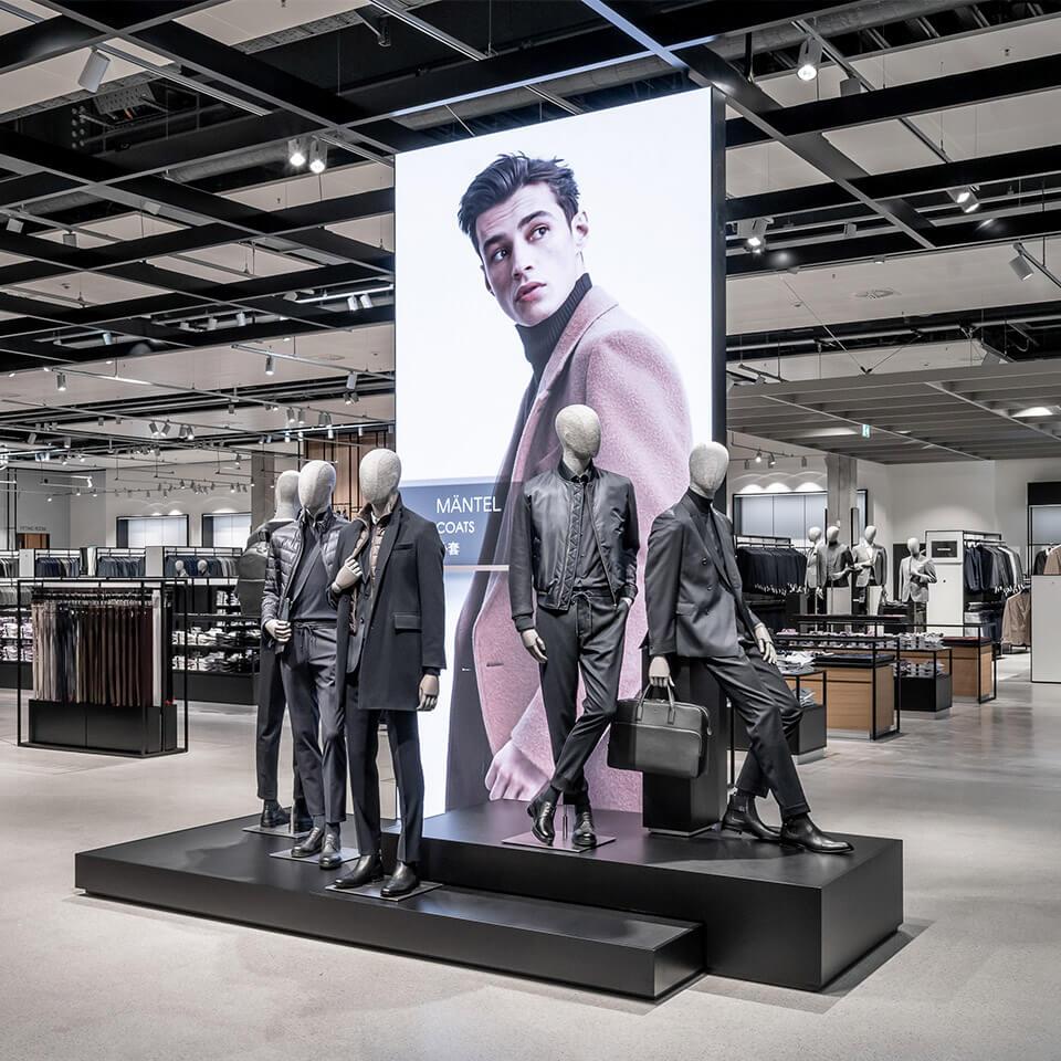 Hugo Boss Retail Digital Konzept