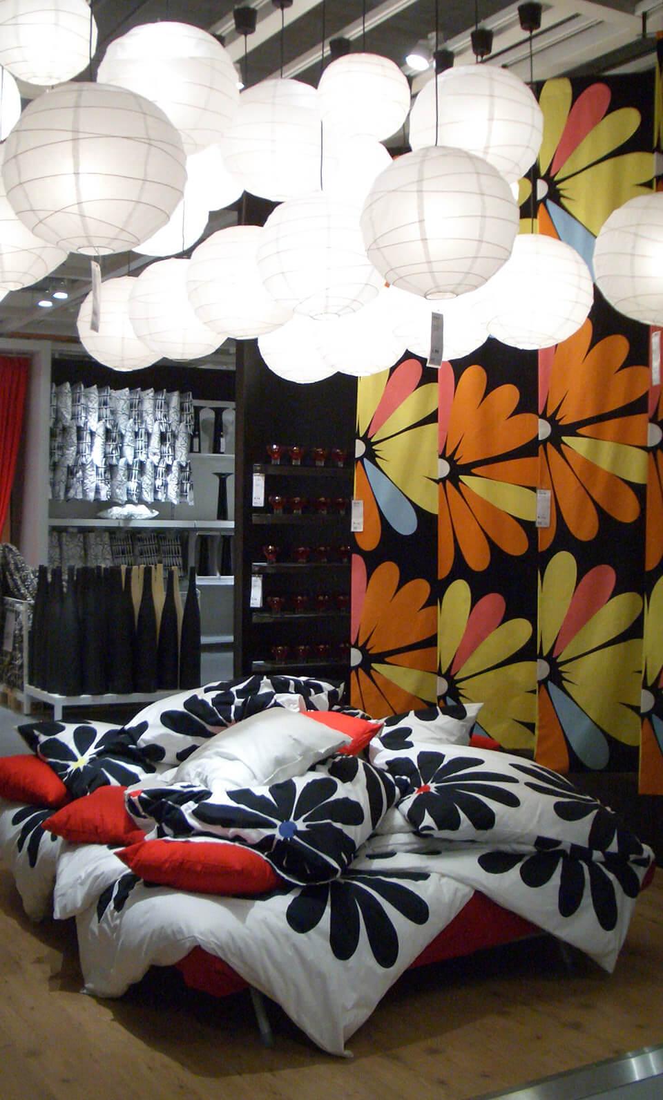 Ikea Retail Design Konzept Kissen