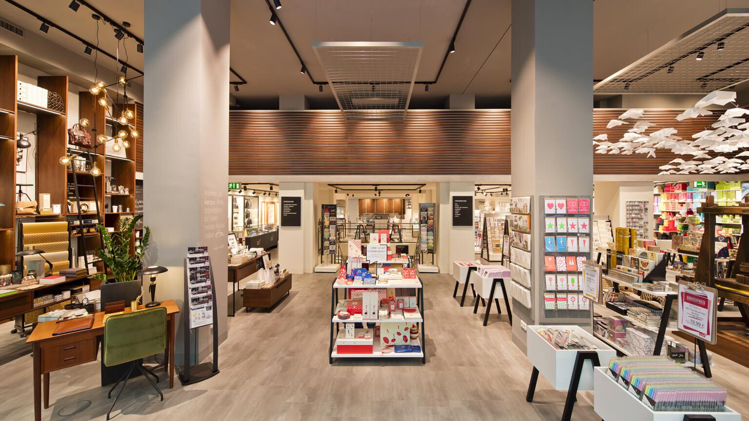 Ortloff Köln Retail Design Konzept Erdgeschoss