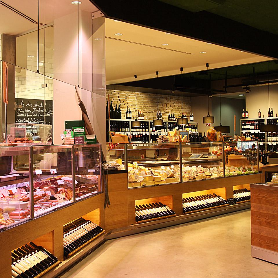 Temma Retail Design Konzept Wurst- und Käsetheke