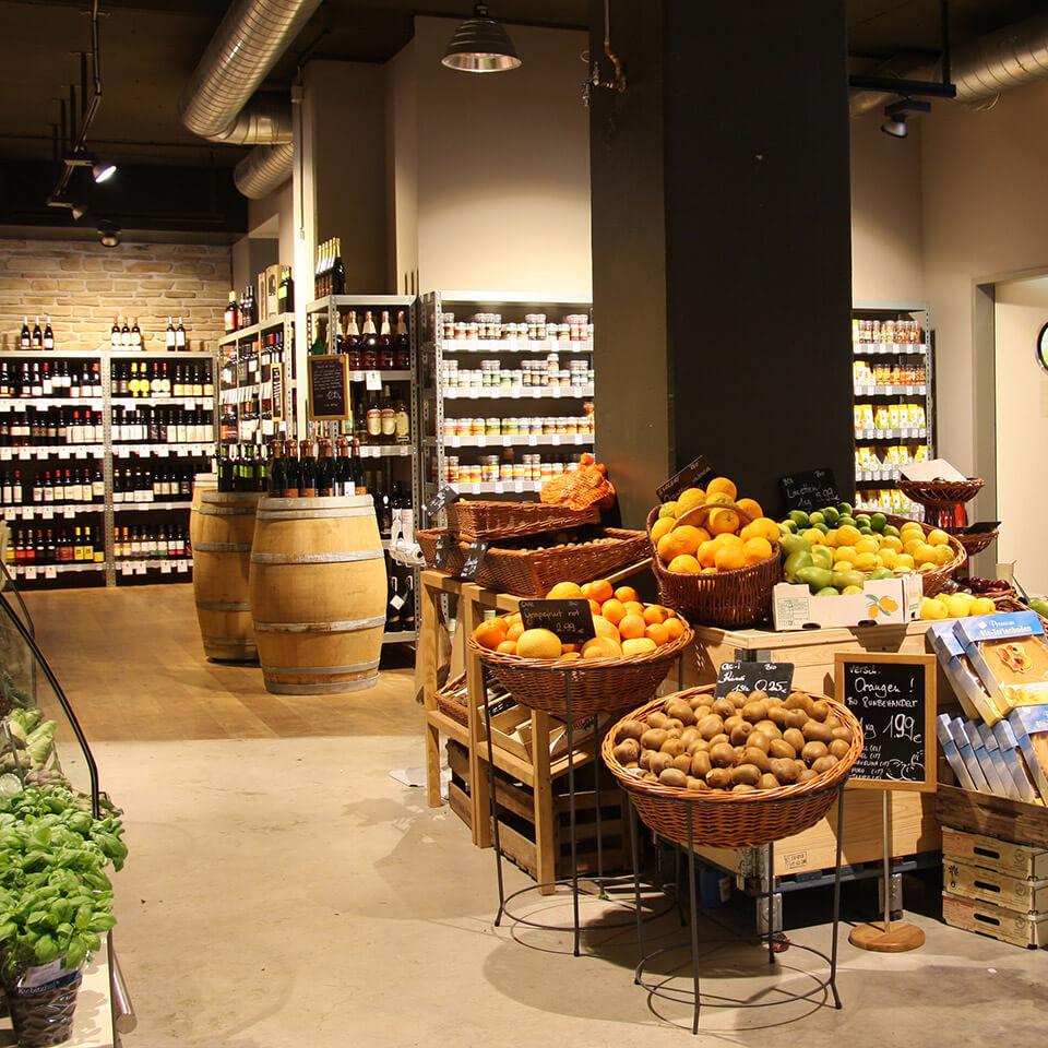 Temma Retail Design Konzept Obst und Gemüse
