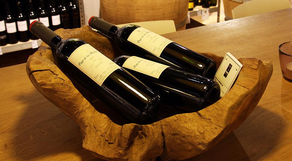 Temma Retail Design Konzept Wein