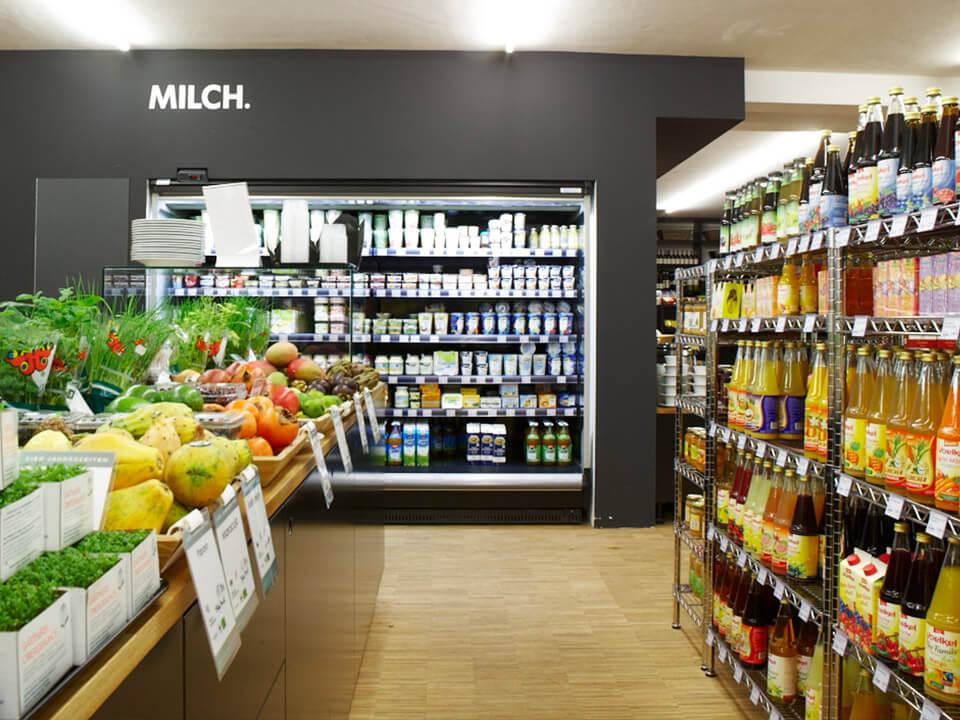 Vierjahreszeiten Retail Design Konzept Kühlung